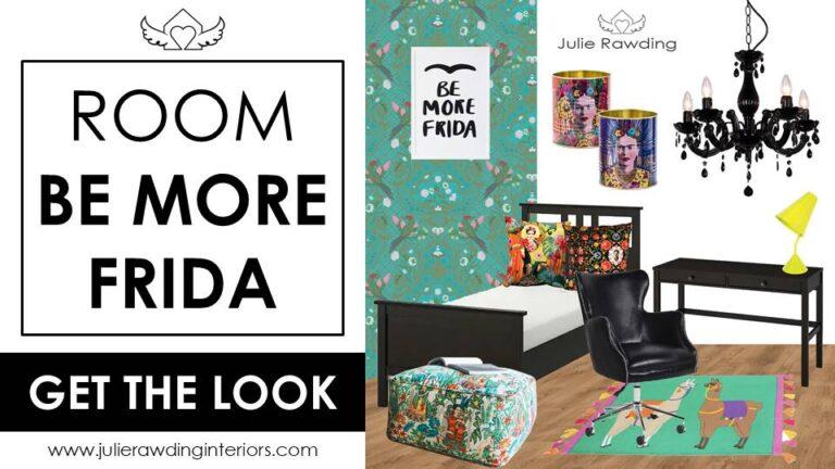 Frida Kahlo bedroom blog title