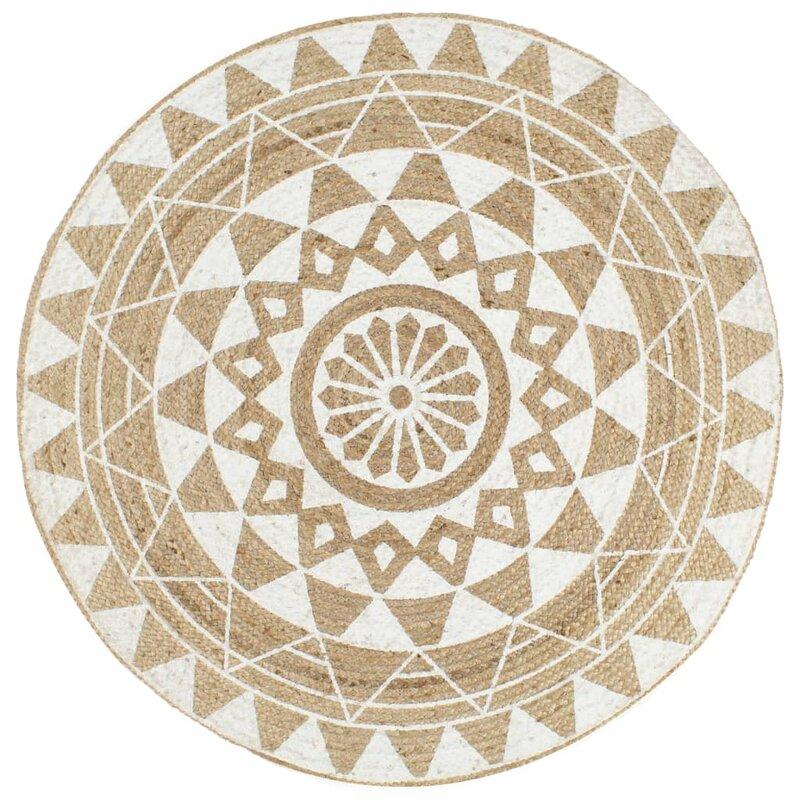 scandinavian rugs  - natural