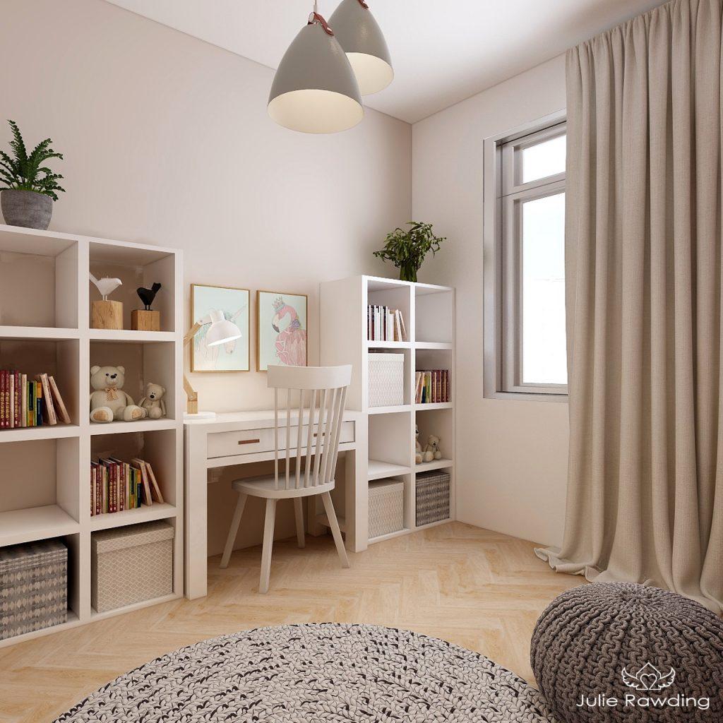 girls bedroom edesign