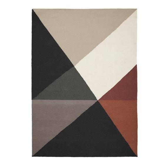 scandinavian geometric rugs