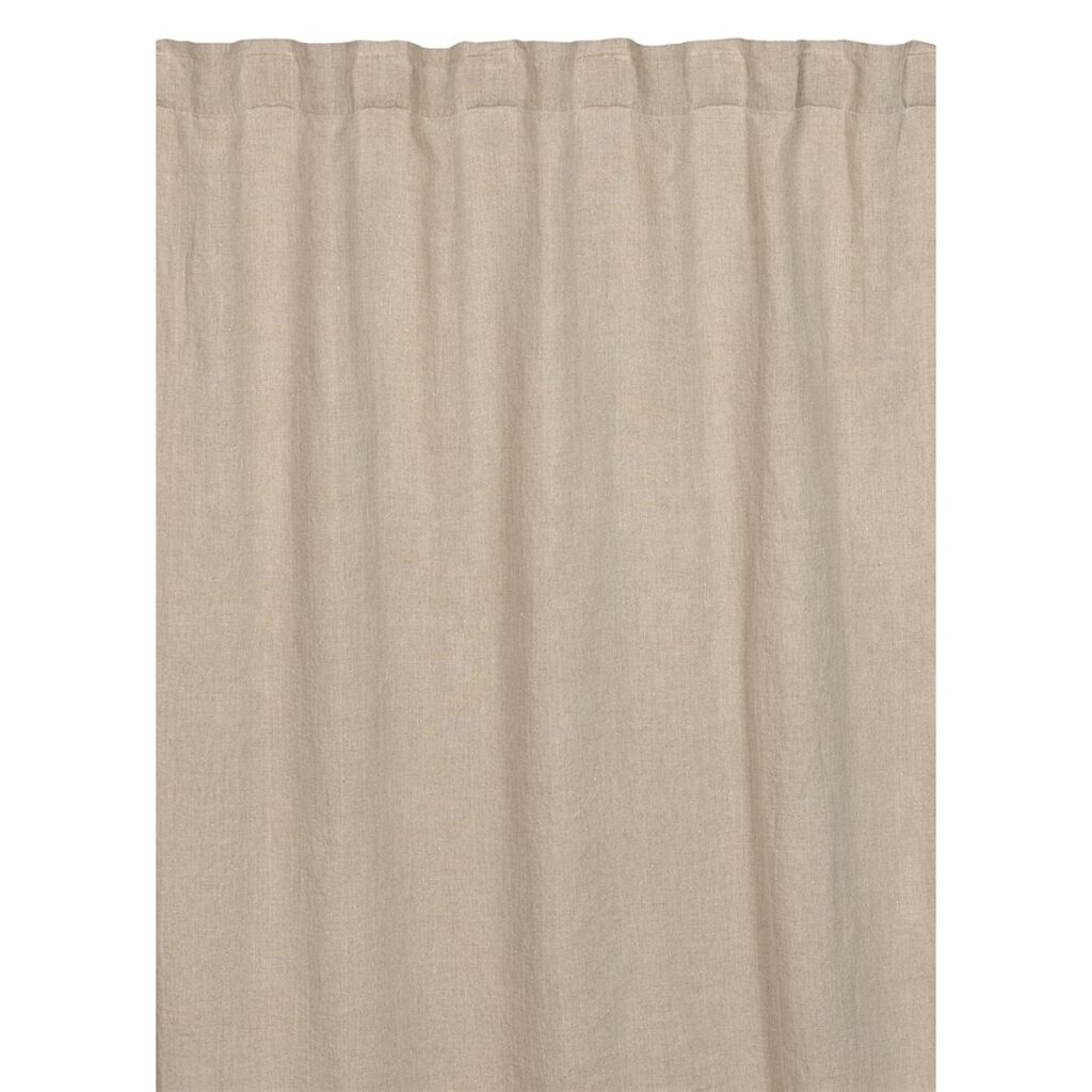 West curtain with ribbon strip