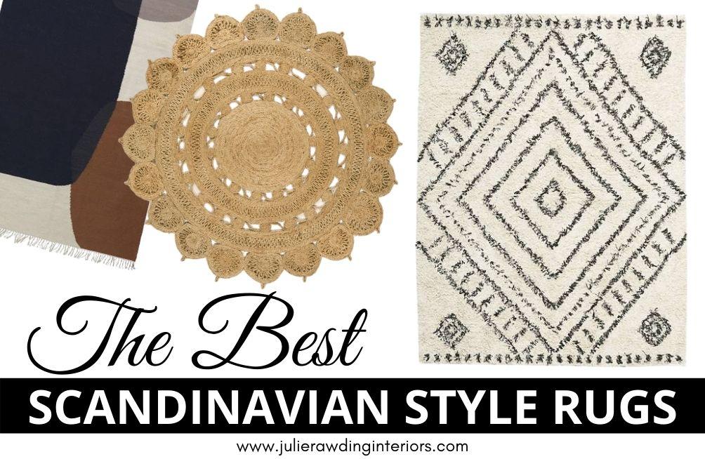The Best Scandinavian rugs in the UK