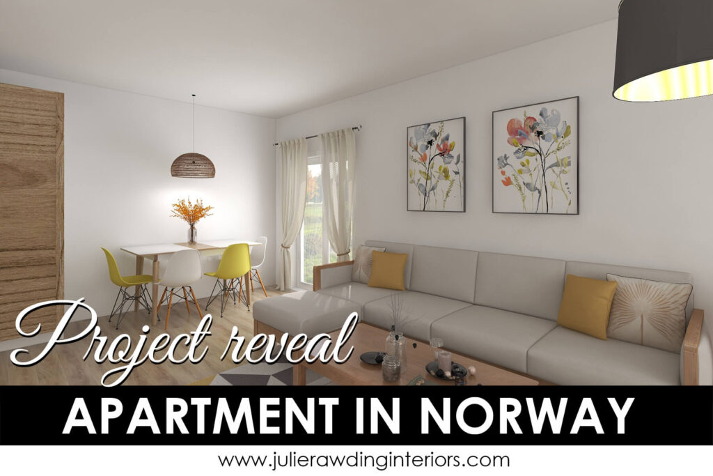 Project reveal: Apartment in Norway