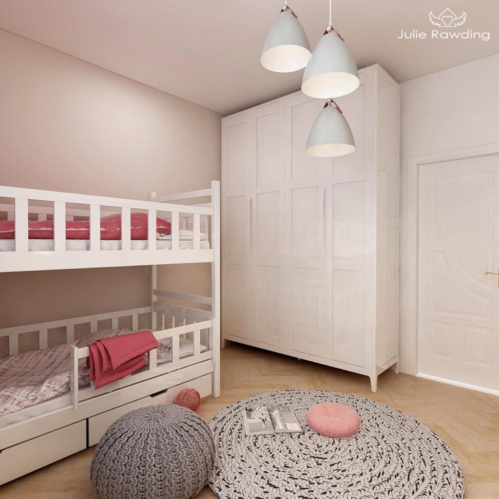 kids bedroom pink