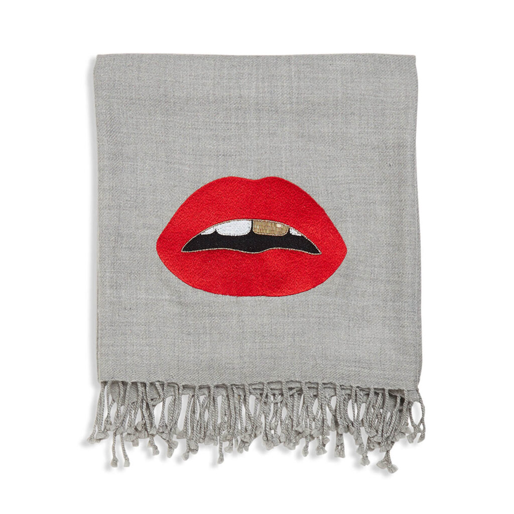 home decor inspired by lips