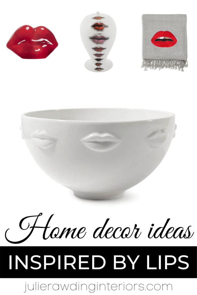 unique home decor inspired by lips