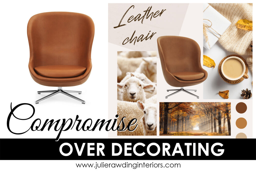 Find a happy way to compromise over decorating