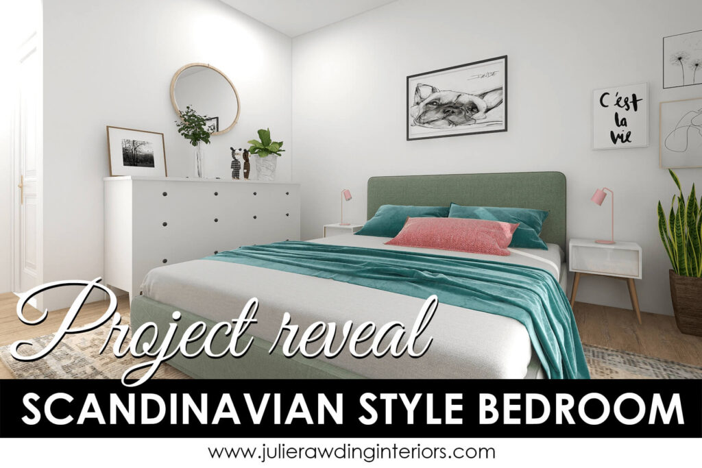 How to create a Scandinavian style bedroom