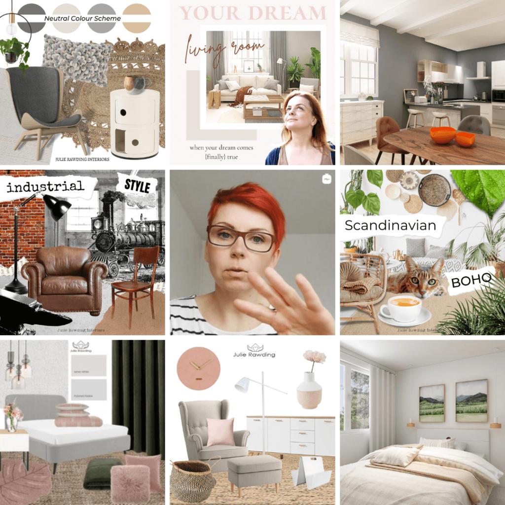 instagram - organize your home design ideas