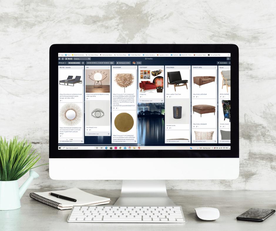 trello - organize your home design ideas