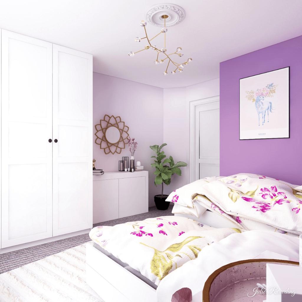 purple bedroom 3d design 05