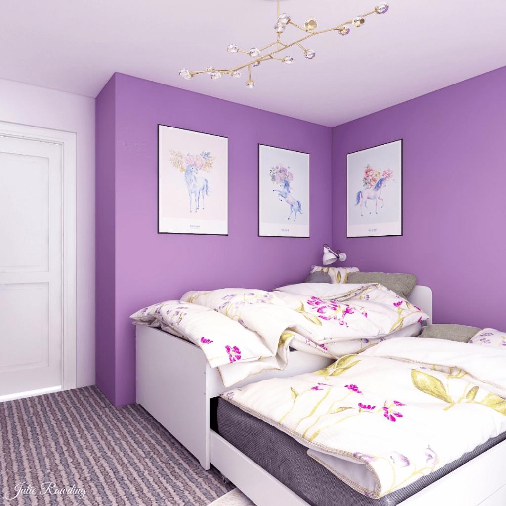 purple bedroom 3d design 03